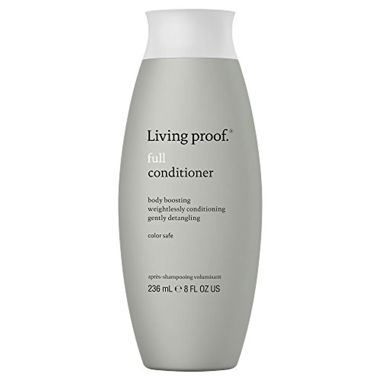 湖愛撫わざわざ生きている証拠フルコンディショナー236ミリリットル (Living Proof) (x2) - Living Proof Full Conditioner 236ml (Pack of 2) [並行輸入品]