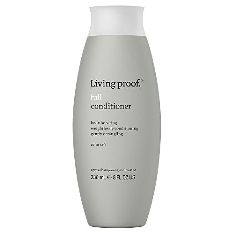 タイマーベスト球状生きている証拠フルコンディショナー236ミリリットル (Living Proof) (x2) - Living Proof Full Conditioner 236ml (Pack of 2) [並行輸入品]