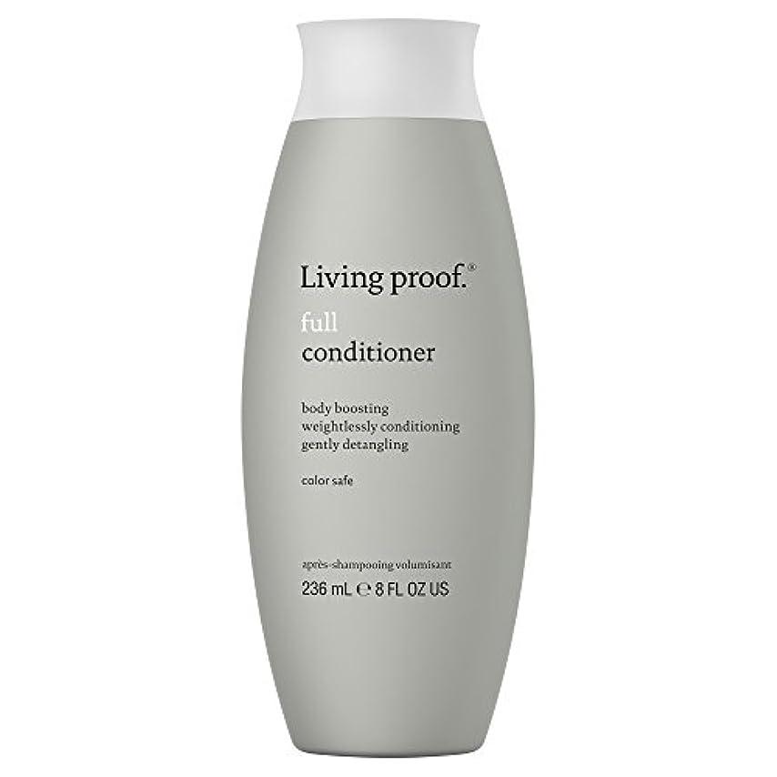 直面する風邪をひくビリー生きている証拠フルコンディショナー236ミリリットル (Living Proof) - Living Proof Full Conditioner 236ml [並行輸入品]
