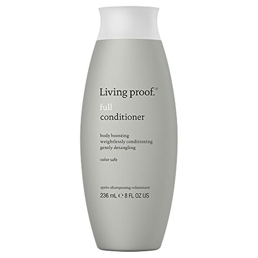 彫る類人猿ピット生きている証拠フルコンディショナー236ミリリットル (Living Proof) (x6) - Living Proof Full Conditioner 236ml (Pack of 6) [並行輸入品]