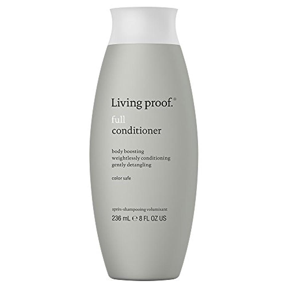 時々時々余暇かろうじて生きている証拠フルコンディショナー236ミリリットル (Living Proof) (x6) - Living Proof Full Conditioner 236ml (Pack of 6) [並行輸入品]