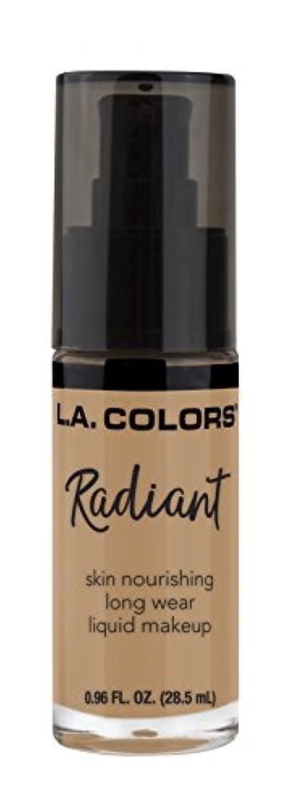 バナー選ぶ柱L.A. COLORS Radiant Liquid Makeup - Light Toffee (並行輸入品)