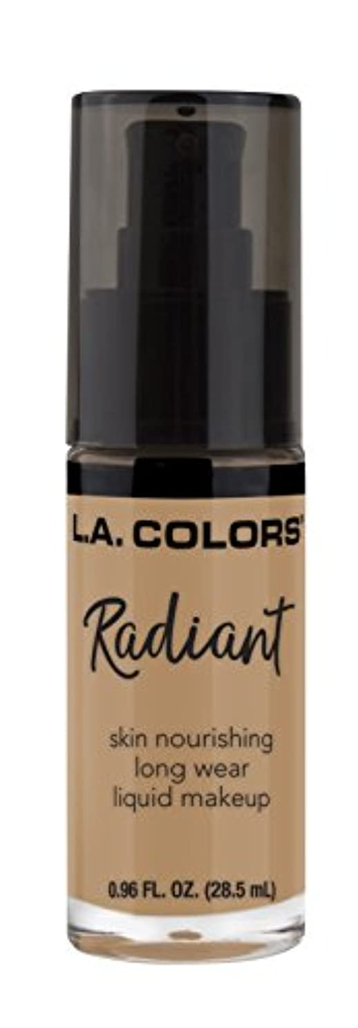 値する爪松L.A. COLORS Radiant Liquid Makeup - Light Toffee (並行輸入品)