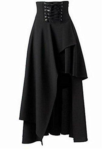 【Micopuella】 ゴスロリ スカート コルセット アシンメトリ・・・