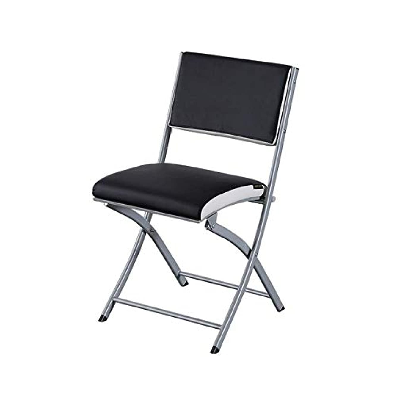 遺伝子ナースアマゾンジャングルラウンジチェアリクライニング折りたたみ椅子、金属折りたたみCipri椅子-ゲストとデスクの椅子(色:C、サイズ:49X43X82cm)の強力なスチールイベントホール席fr仮設席,B、49X43X82cm