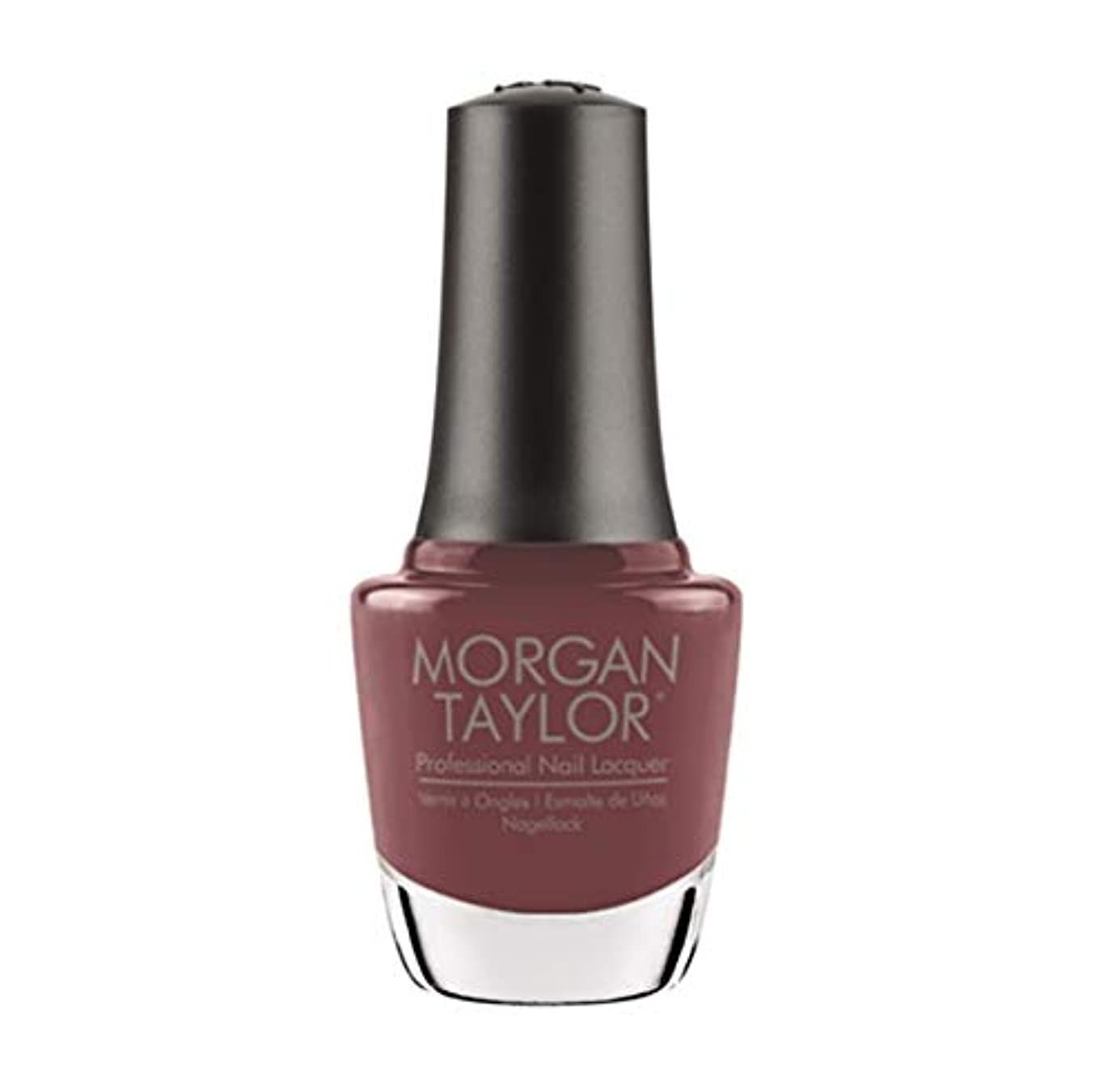 コンペ粉砕する脊椎Morgan Taylor Nail Lacquer - Exhale - 15ml / .5oz