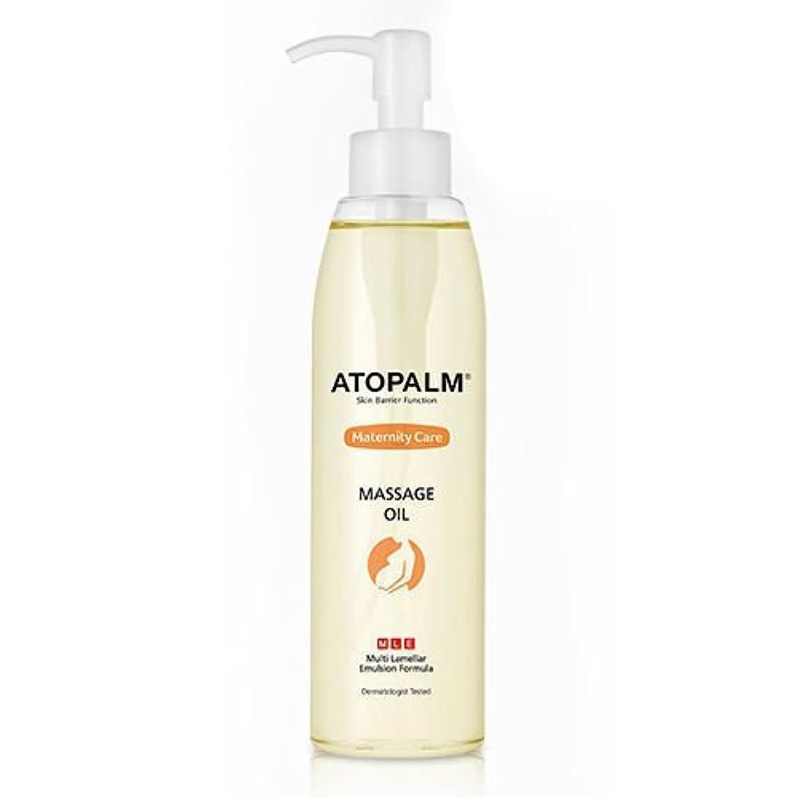 体細胞帆見つけるATOPALM Maternity Care Massage Oil 120ml/アトパーム マタニティ ケア マッサージ オイル 120ml [並行輸入品]