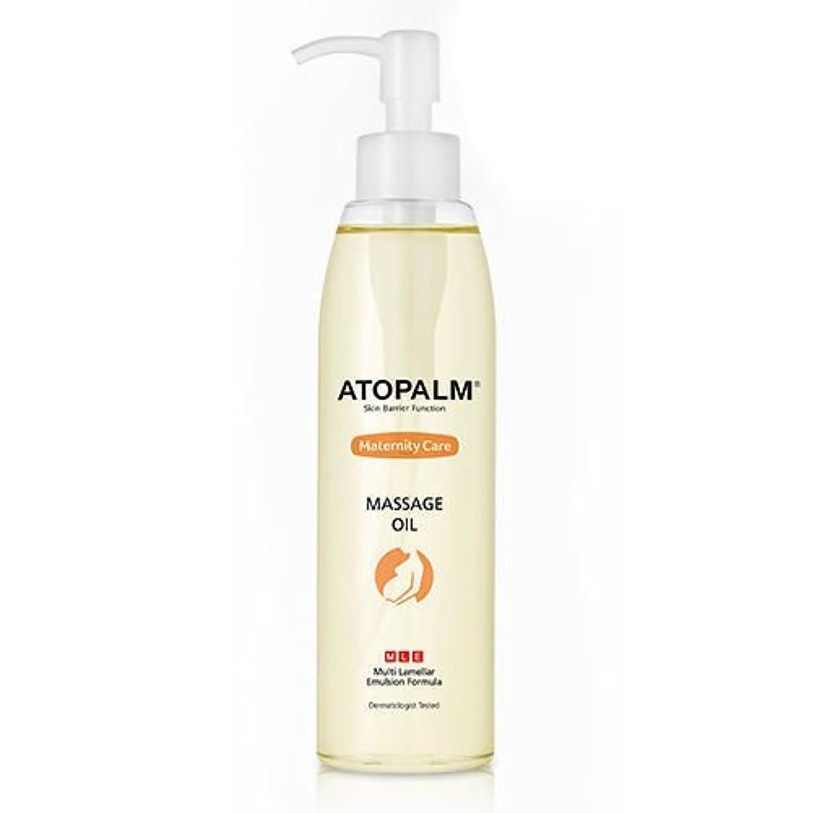アリ運命的な成功ATOPALM Maternity Care Massage Oil 120ml/アトパーム マタニティ ケア マッサージ オイル 120ml [並行輸入品]