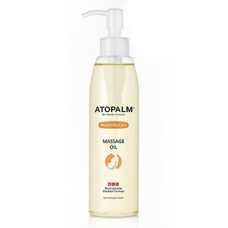 交差点化合物安息ATOPALM Maternity Care Massage Oil 120ml/アトパーム マタニティ ケア マッサージ オイル 120ml [並行輸入品]