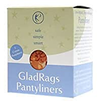 海外直送品GladRags Color Pantyliner, 3 PACK (Pack of 6)