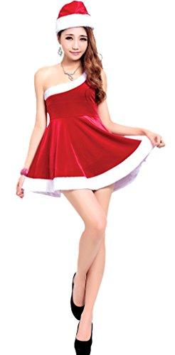 kaen(カエン)サンタクロース 衣装 レディース クリスマ...