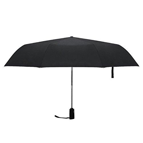 Hometek 折り畳み傘 梅雨対策 ワンタッチ自動開閉 三つ折り 耐風撥水 晴雨兼用傘 高強度グラスファイバー 8本骨