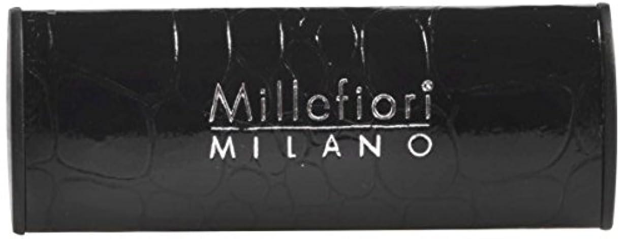 しがみつく繊細過半数Millefiori カーエアフレッシュナー [URBAN] スパイシーウッド CDIF-C-001