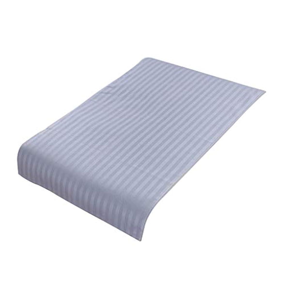 PETSOLA 美容院ベッドカバー 断面 スパ マッサージベッドスカート ピュアコットン 快適 (90×60cm) - ライトブルー