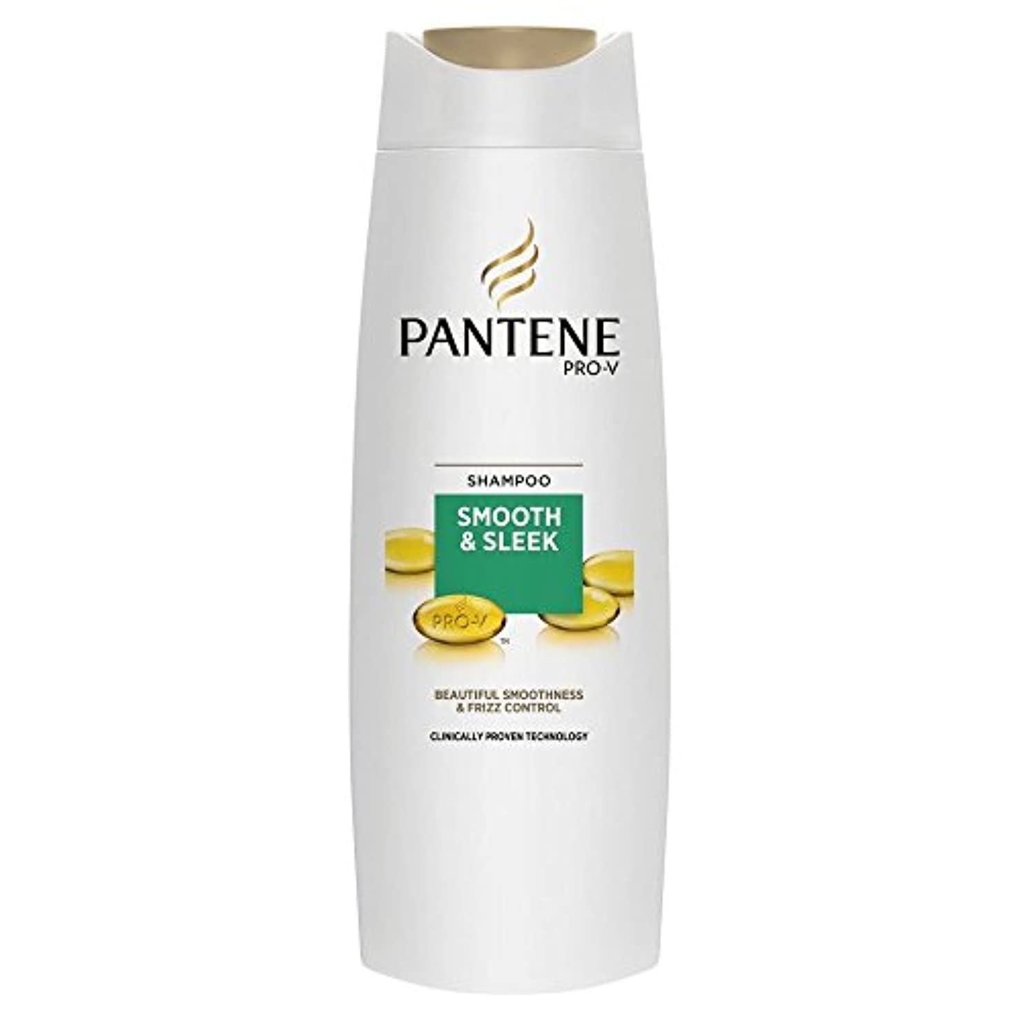 分布ロック虫Pantene Pro-V Smooth & Sleek Shampoo (400ml) パンテーンプロv滑らかで洗練されたシャンプー( 400ミリリットル) [並行輸入品]