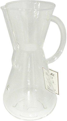 コーヒーメーカー ドリップ式 ガラスハンドル 3カップ用 CM-1GH