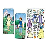 Snow White Magnetic Paper Doll by Lee Publications [Toy] [並行輸入品]
