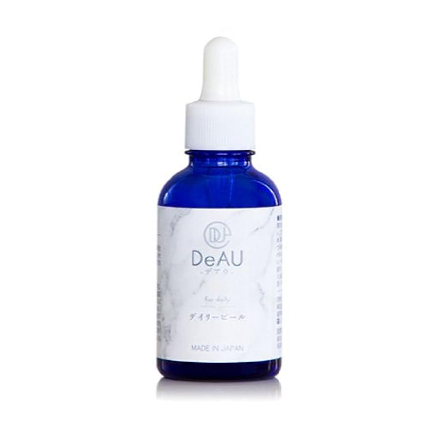 ラフトテメリティ傾向がありますDeAU デアウ デイリーピール 角質柔軟美容液