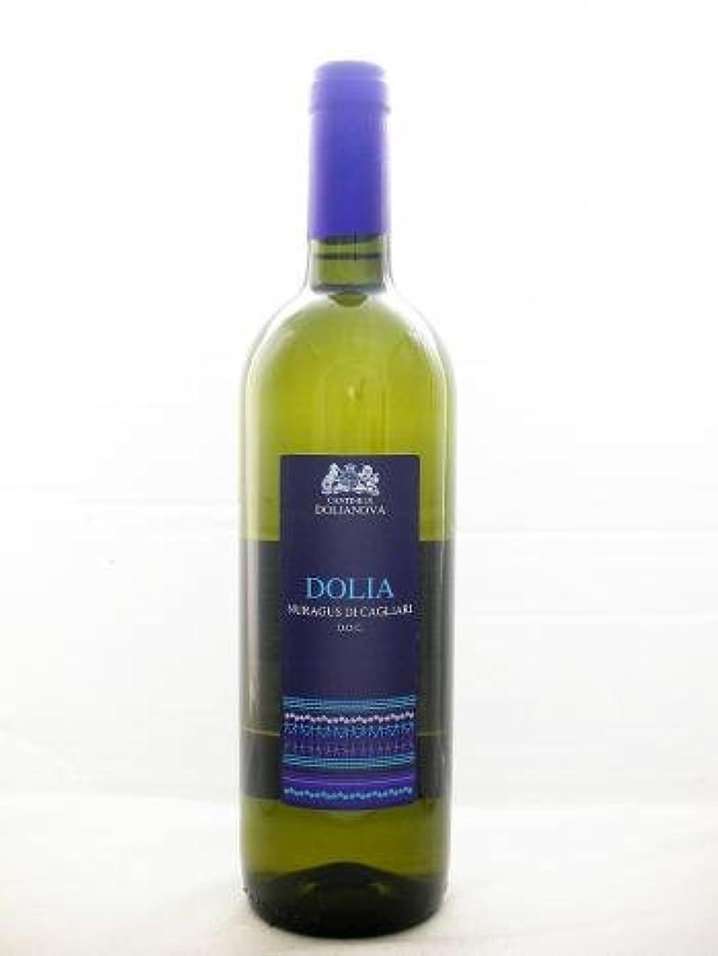凍る成果依存するドリアノーヴァ ドリア ヌラグス【Dolianova Dolia Nuragus】【イタリア?サルディーニャ州?白ワイン?辛口?750ml】
