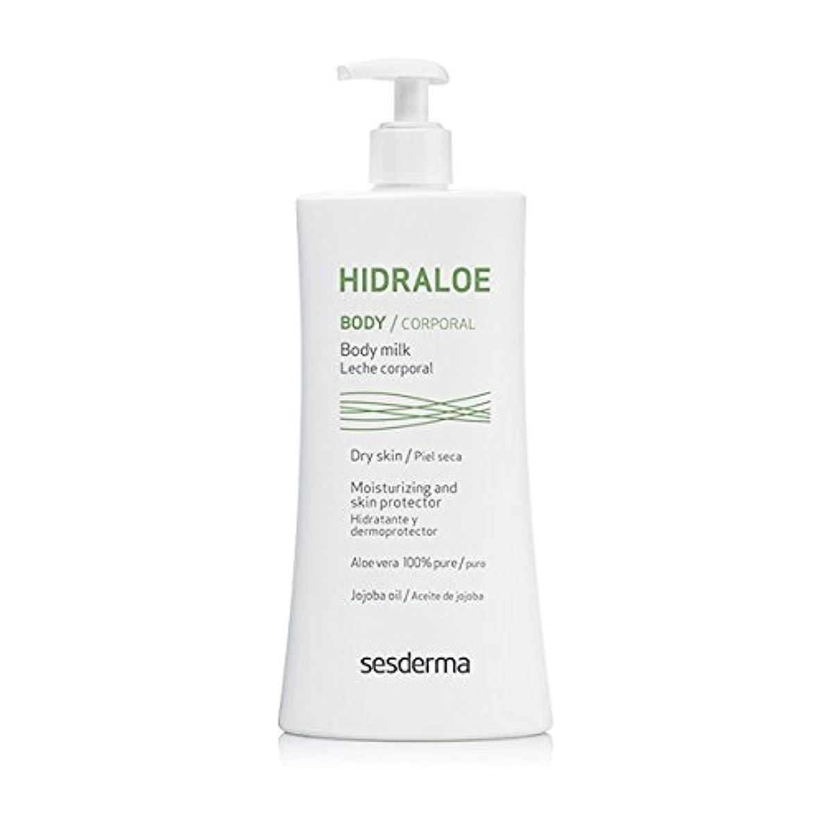 健康発生器知るSesderma Hidraloe Body Milk 400 Ml [並行輸入品]