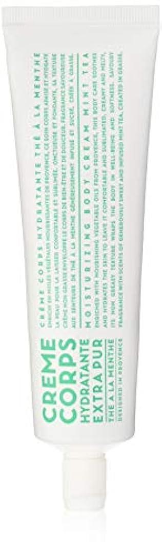 ナチュラル珍味陰気カンパニードプロバンス ボディークリーム ミントティー 100mL (全身用保湿 爽やかな香り)