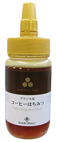 近藤養蜂場 ブラジル産コーヒー蜂蜜 250g
