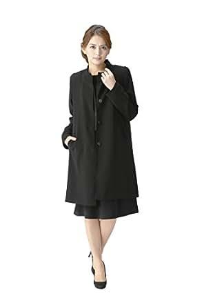 (マーガレット)marguerite m171 ライナー付きコート(ライナー取り外し可能)ブラックフォーマル レディース 喪服 礼服