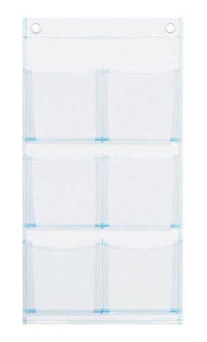 サキ ウォールポケット クリア サイズ:30x57.5cm