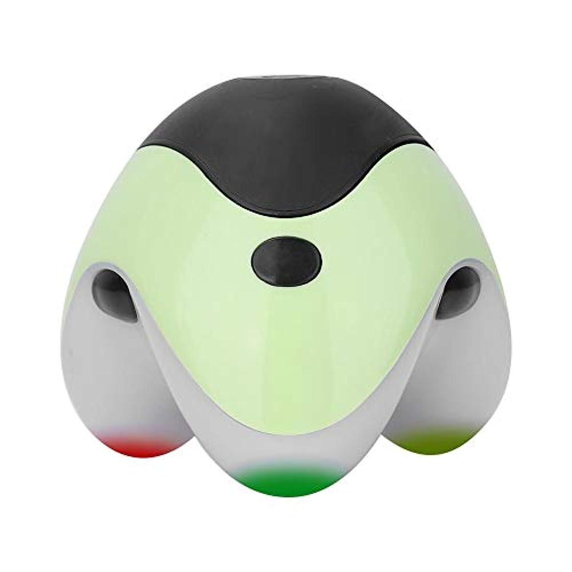 受粉者便利さ潜在的なNitrip ボディマッサージ ハンディマッサージャー ボティローラー 全身用 血行促進 疲労緩和 ストレス解消 ヘルスケア マッサージツール 携帯便利 4色(緑)