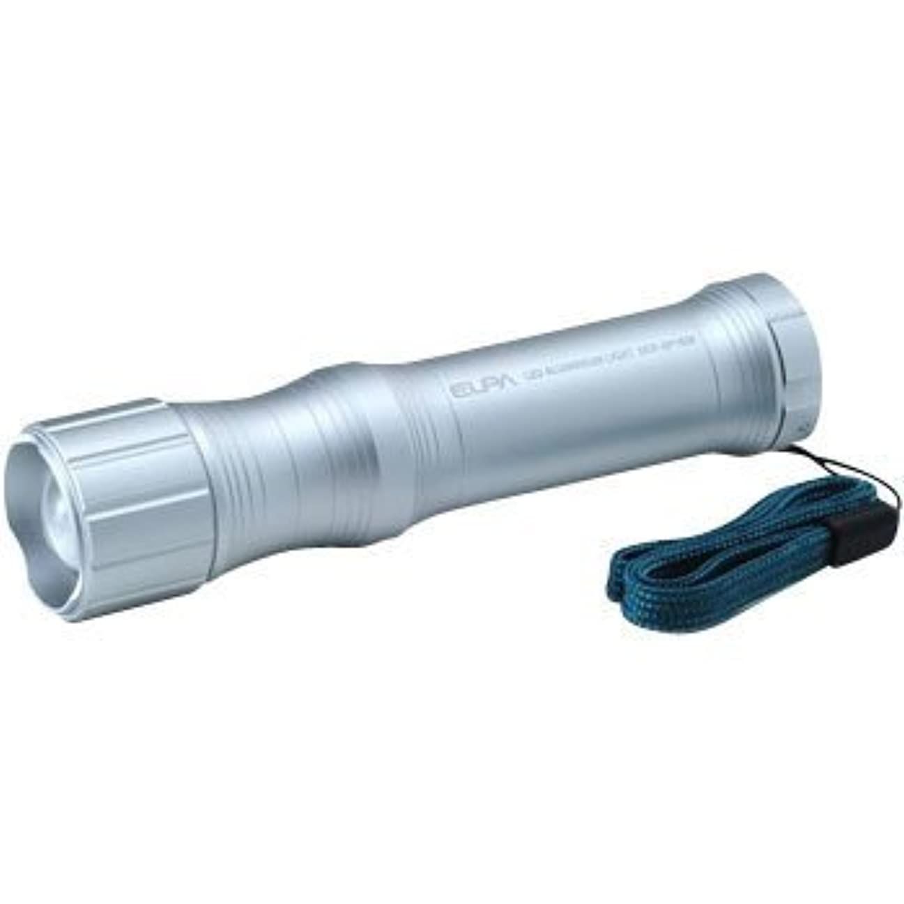 好奇心盛雇用プレゼンターELPA LED懐中電灯アルミライト エルゴフォルム DOP-EP103F