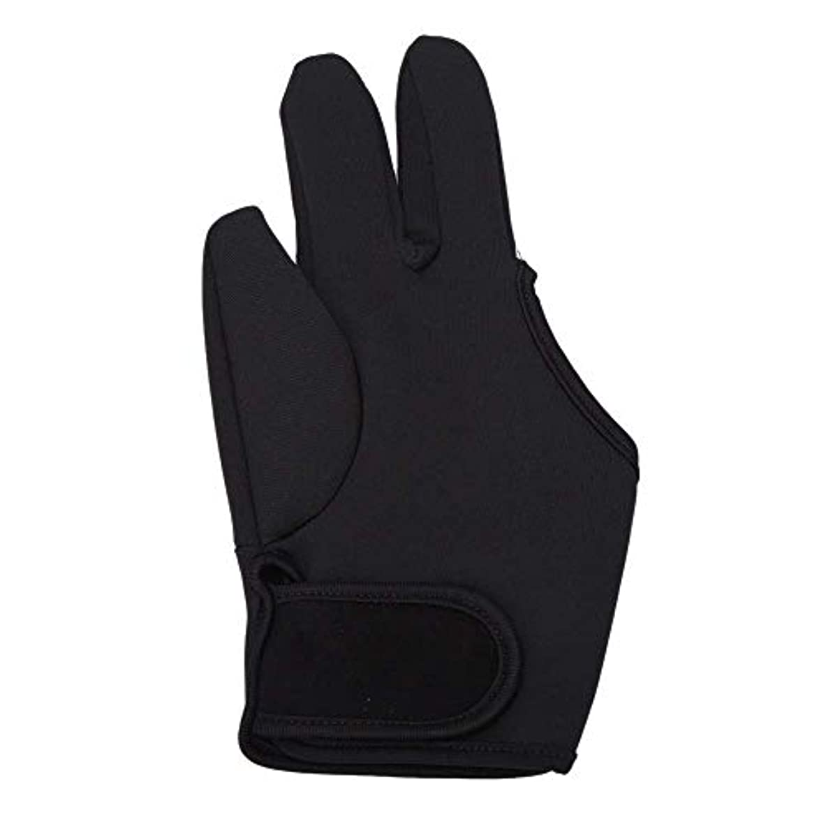 上へ邪悪な自治的TOOGOO 耐熱手袋ヘアスタイリングカーリングパーマカーリングワンドフラットアイアン3フィンガーグローブツール