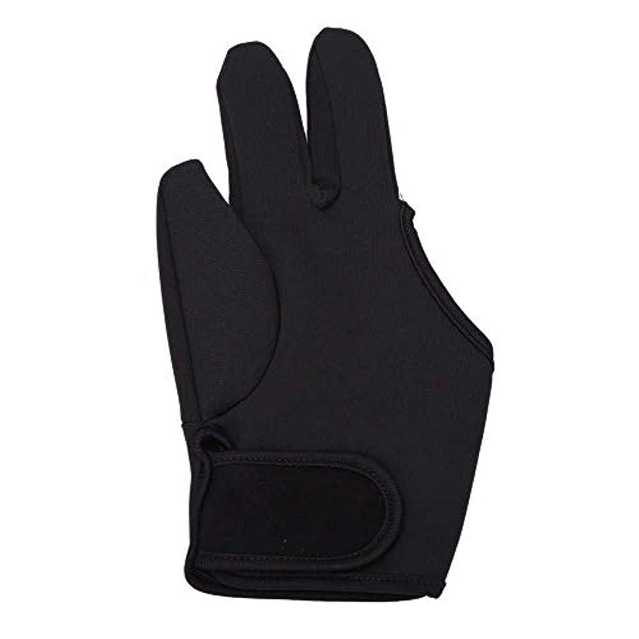 半円表面的な敬意を表するSODIAL 耐熱手袋ヘアスタイリングカーリングパーマカーリングワンドフラットアイアン3フィンガーグローブツール