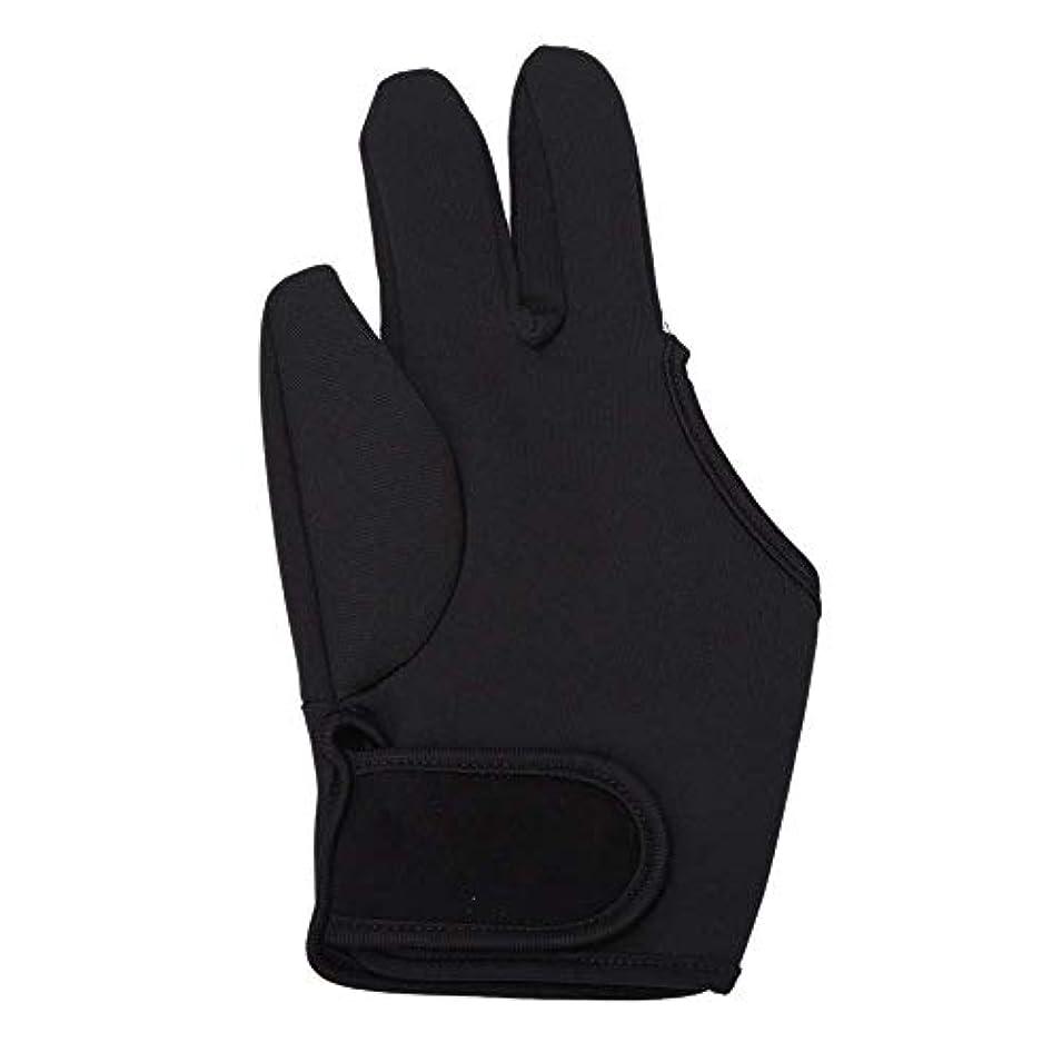 ディレクターラッシュ蓋SODIAL 耐熱手袋ヘアスタイリングカーリングパーマカーリングワンドフラットアイアン3フィンガーグローブツール