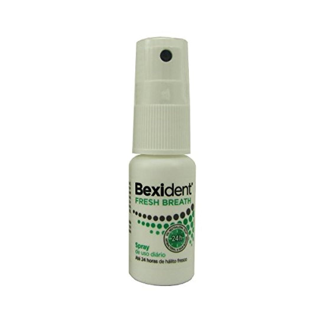 スタック汚れた批判的にBexident Fresh Breath Spray 15ml [並行輸入品]