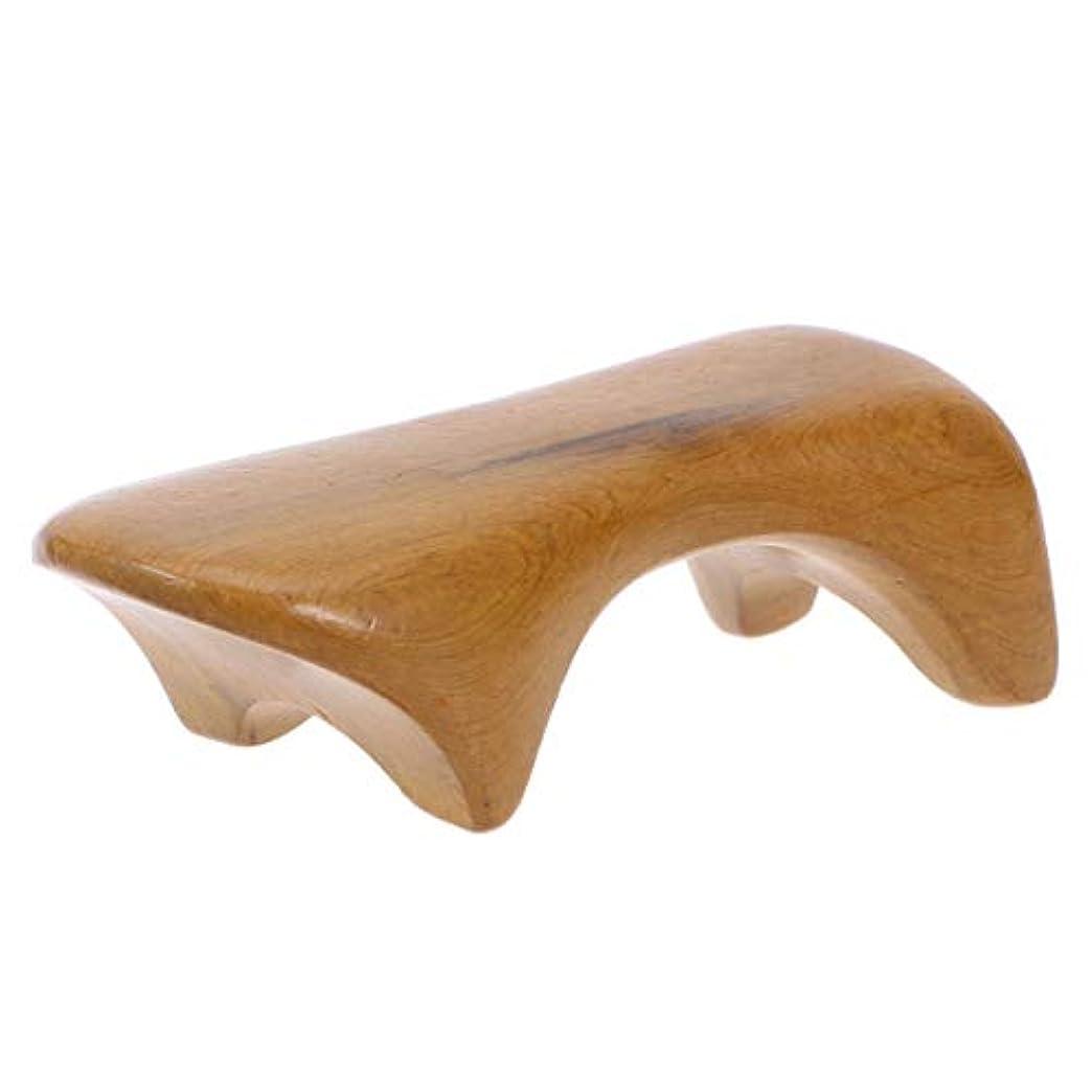 飾る好奇心ブル完全木製のための木の背部マッサージャーの手持ち型のBadyのマッサージャーの多機能のマッサージャー