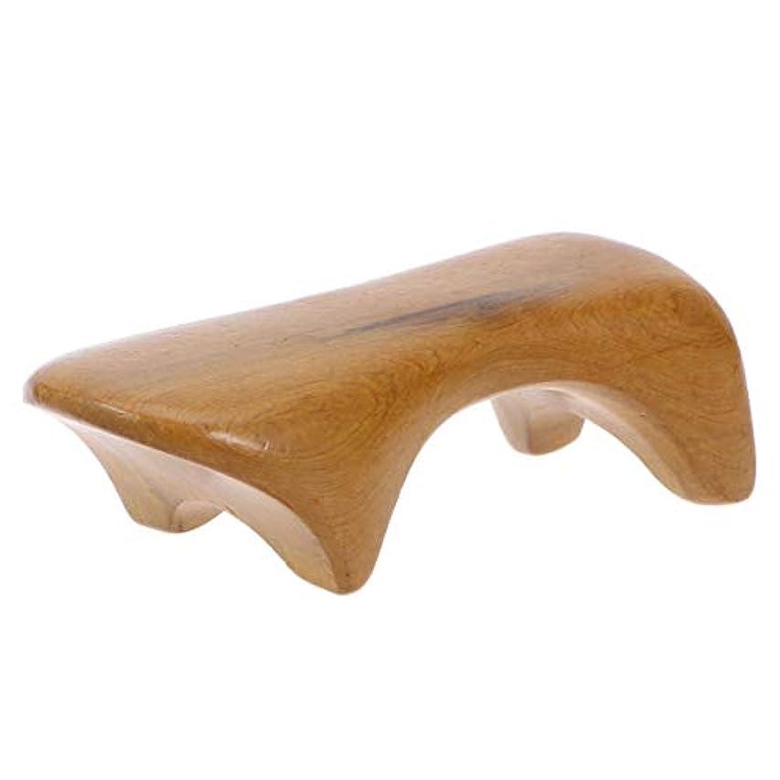 毎回ストラップお茶完全木製のための木の背部マッサージャーの手持ち型のBadyのマッサージャーの多機能のマッサージャー