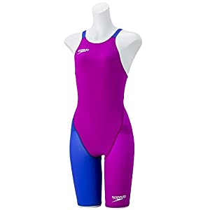 Speedo(スピード) 競泳水着 女の子 ジュニア ニースキン 2 ファストスキン エフエスプロ レーザー・パルス・プラス FINA 承認モデル 130 DB(ディーバ×ビューテフルブルー) SD38H06
