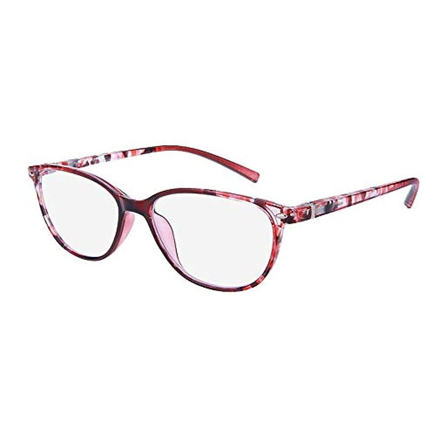 男性と女性のための老眼鏡、ファッション超軽量エレガント老眼鏡、高精細アンチブルーライト抗疲労快適な老齢眼鏡拡大鏡