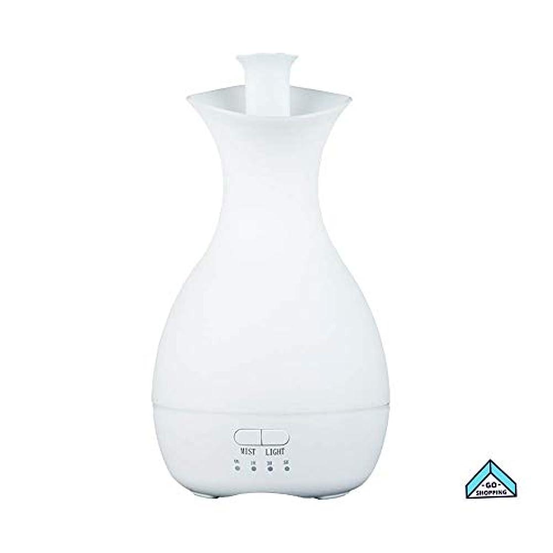 原油絶妙癌NICEE加湿器、花瓶カラフルなナイトライトアロマセラピーホームノイズのないタイミングホームベッドルーム、ヨガ用大容量NICEY