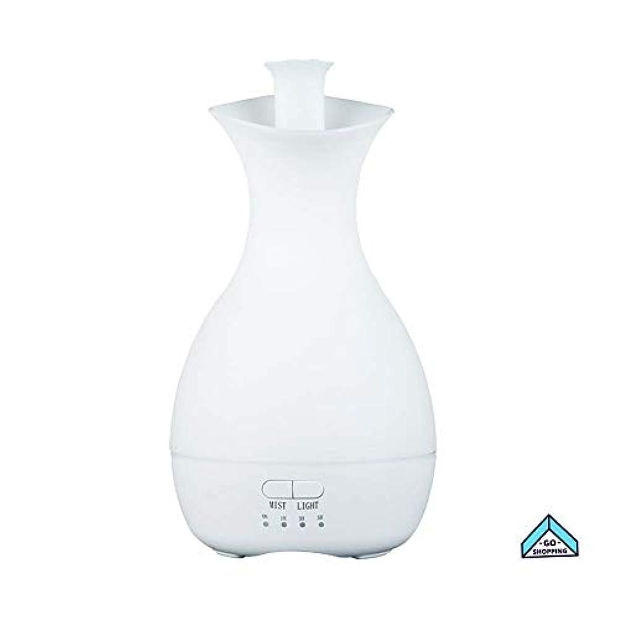 長々と練るボーダーNICEE加湿器、花瓶カラフルなナイトライトアロマセラピーホームノイズのないタイミングホームベッドルーム、ヨガ用大容量NICEY