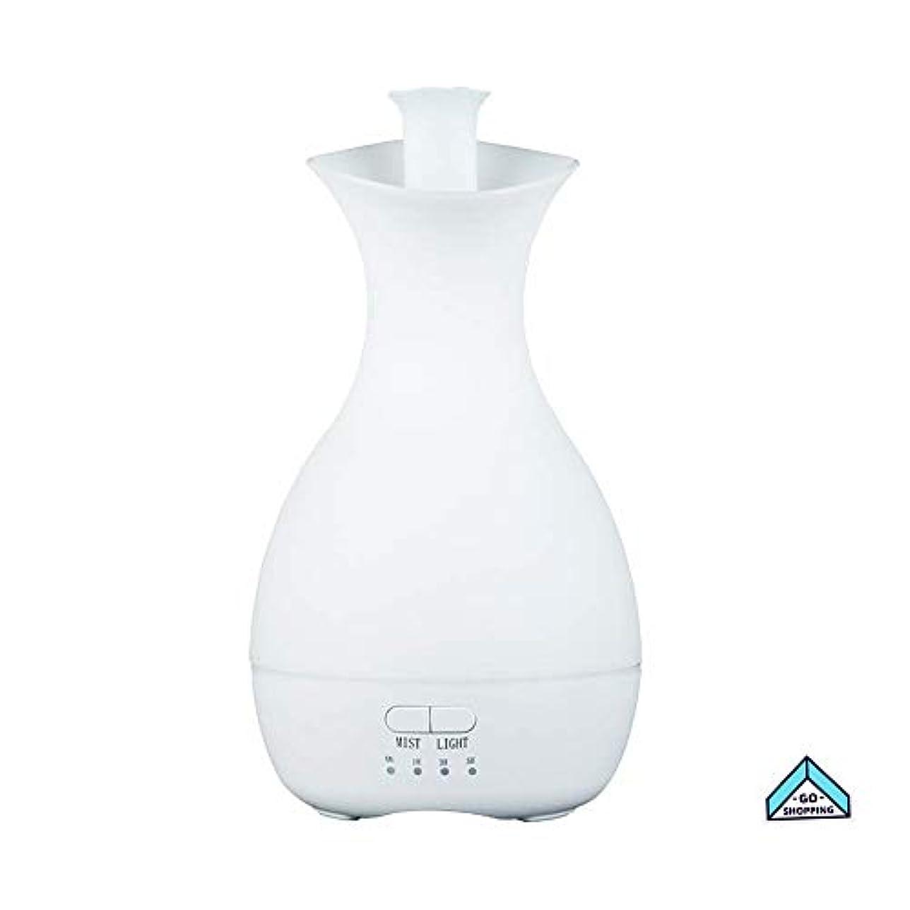 灌漑ブローホール問い合わせNICEE加湿器、花瓶カラフルなナイトライトアロマセラピーホームノイズのないタイミングホームベッドルーム、ヨガ用大容量NICEY