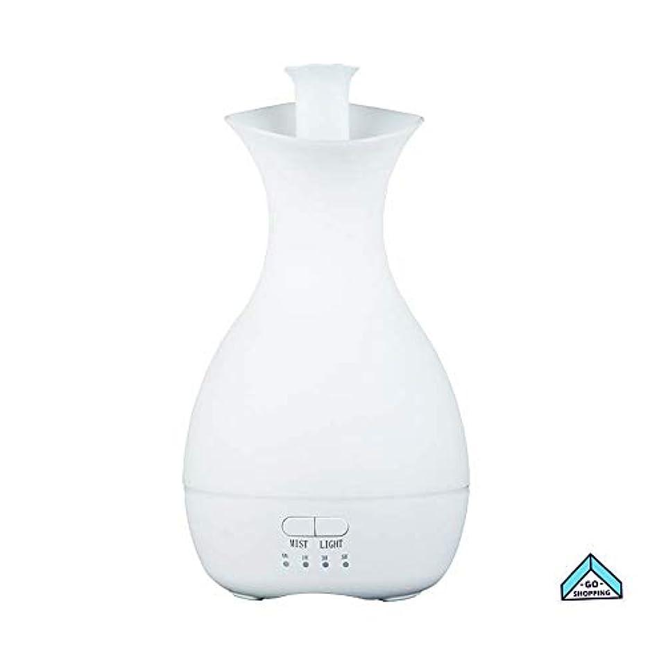 支払いイブ前者NICEE加湿器、花瓶カラフルなナイトライトアロマセラピーホームノイズのないタイミングホームベッドルーム、ヨガ用大容量NICEY