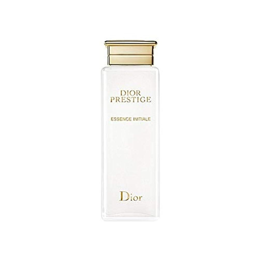 設計図カップ職業[Dior] 血清200ミリリットルイニシャルディオールプレステージエッセンス - Dior Prestige Essence Initiale Serum 200ml [並行輸入品]