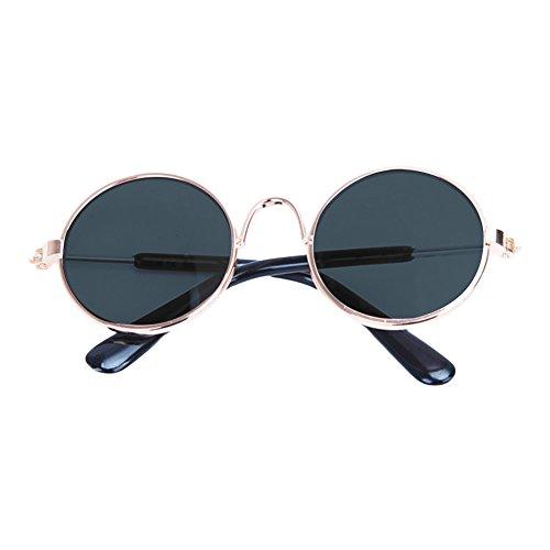 OUYOU ペット用メガネ 猫用メガネ 犬用眼鏡 日焼け対策 ワンちゃん 猫ちゃん おしゃれ 撮影物