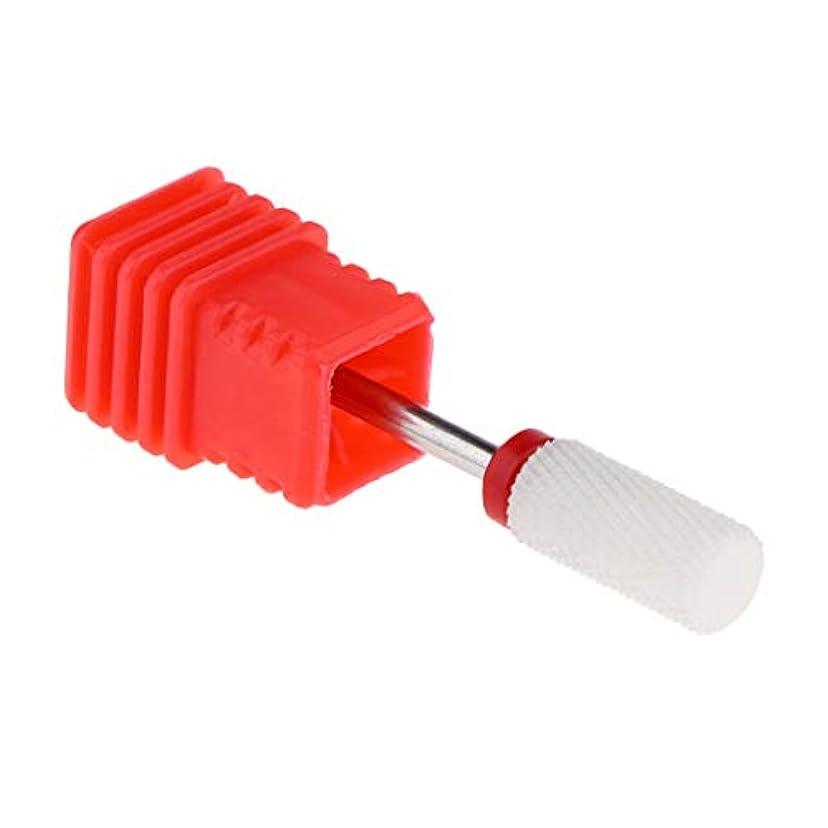 対応憂慮すべき複雑なInjoyo セラミックネイルドリルビット、電気ジェルネイルサロンマニキュアツールの場合は、研磨ヘッドネイルアートツールを削除するキューティクルクリーン - F