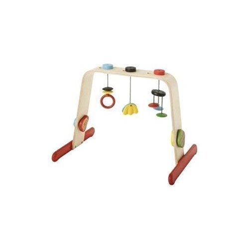 IKEA(イケア) LEKA 60167704 ベビージム, バーチ, マルチカラー