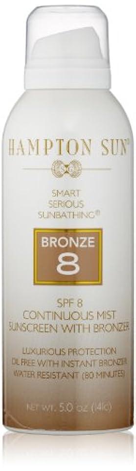 代表してアレルギーいうHampton Sun - SPF 8 Continuous Mist With Bronzer (5.0 oz.)