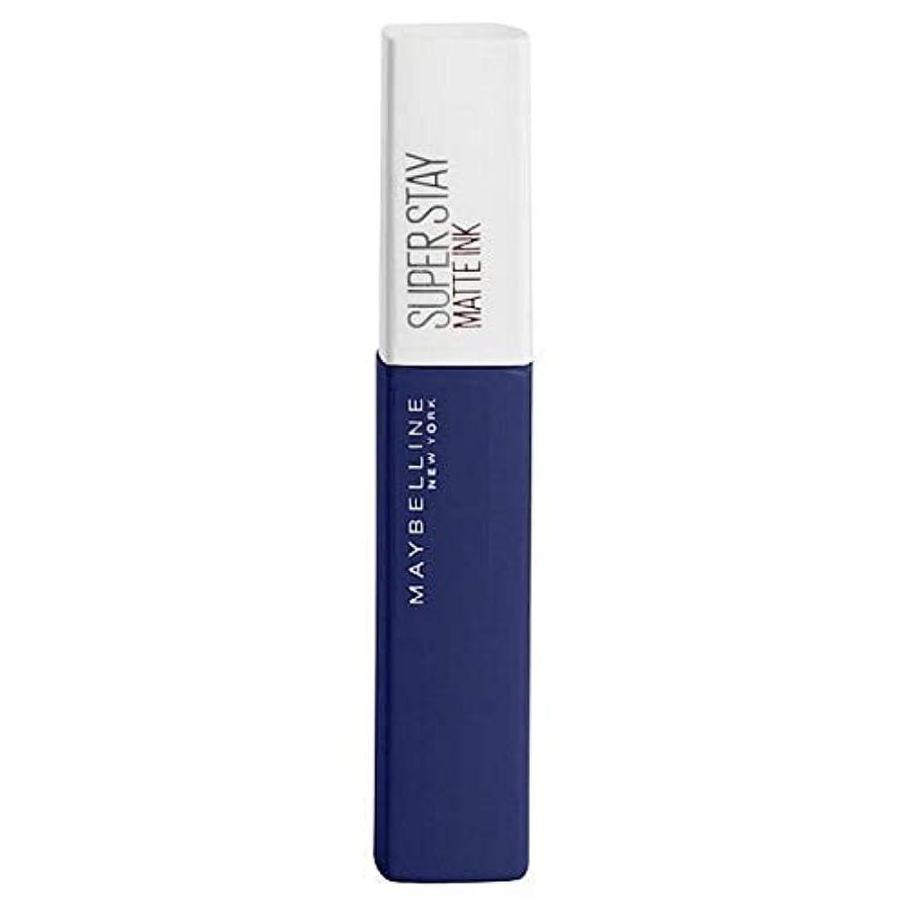 風味驚かす馬力[Maybelline ] メイベリンSuperstayマットインク105エクスプローラ - Maybelline Superstay Matte Ink 105 Explorer [並行輸入品]