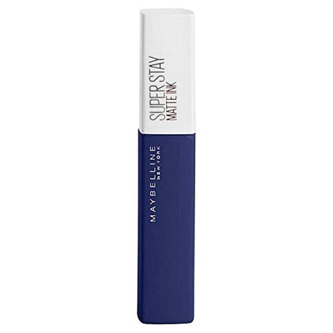 シンジケート明快小川[Maybelline ] メイベリンSuperstayマットインク105エクスプローラ - Maybelline Superstay Matte Ink 105 Explorer [並行輸入品]