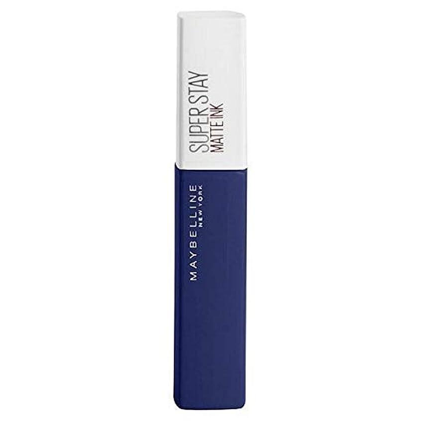 窒素尽きる支店[Maybelline ] メイベリンSuperstayマットインク105エクスプローラ - Maybelline Superstay Matte Ink 105 Explorer [並行輸入品]